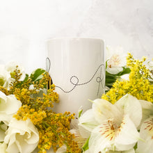 Load image into Gallery viewer, Personalised Ceramic Bee Mug