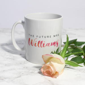 Personalised Future Mrs Mug