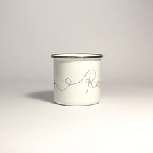 Load image into Gallery viewer, Personalised Enamel Bee Mug