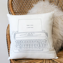 Load image into Gallery viewer, Personalised Love Story Cushion