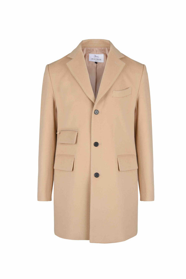 Wool Tailored Coat - 20% OFF