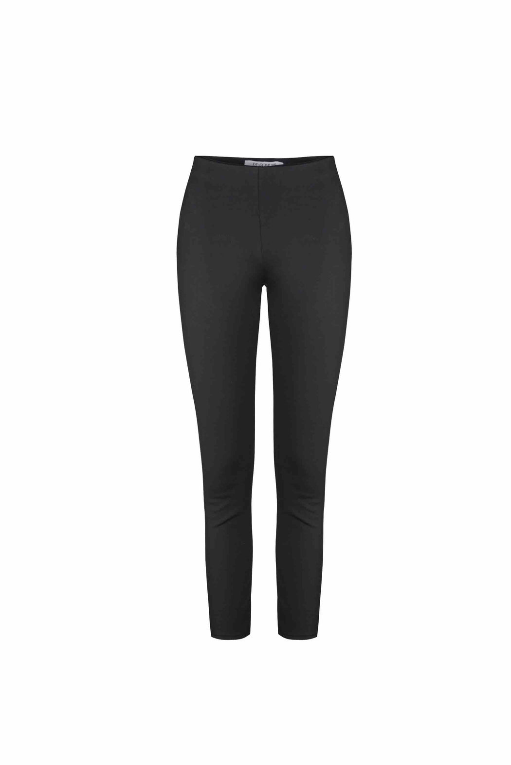 Front view of Women Super Stretchy Leggings in Black