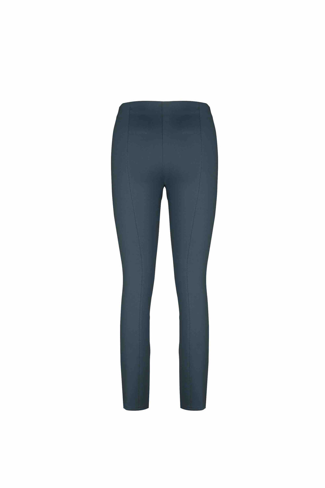Back view of Women Super Stretchy Leggings in Dark Grey