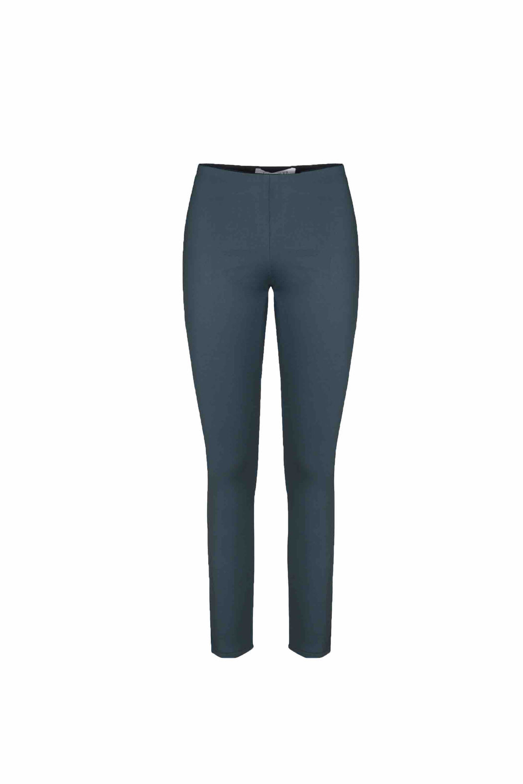 Front view of Women Super Stretchy Leggings in Dark Grey