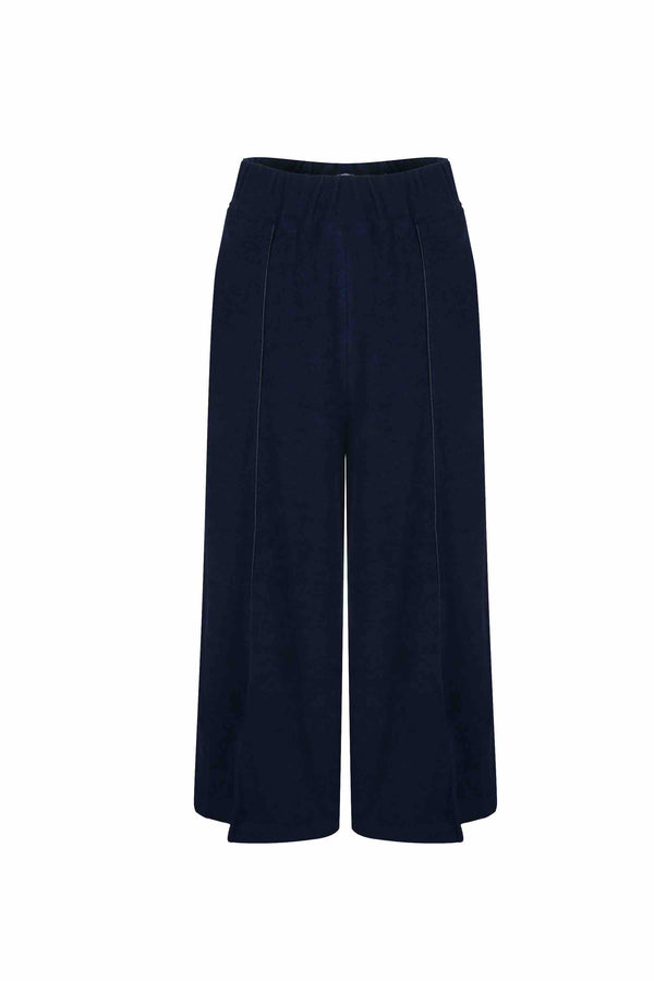 Crop Wide-Leg Pants