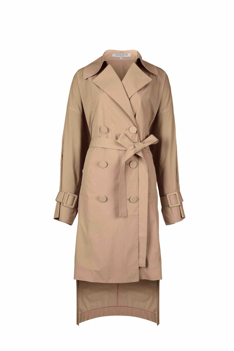 Women Bemberg Trench Coat