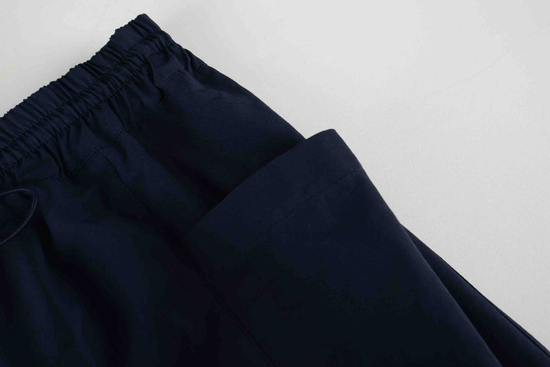 Men Cupra Side Pocket Easy Pants in Navy (Pocket Detail)