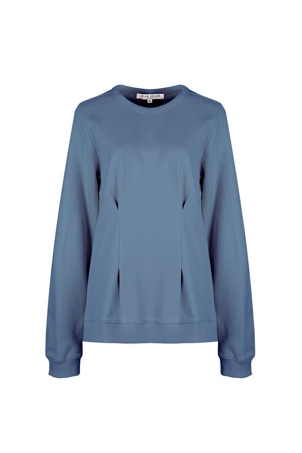 Women Dart Detail Sweatshirt