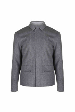 Reversible Wool Jacket