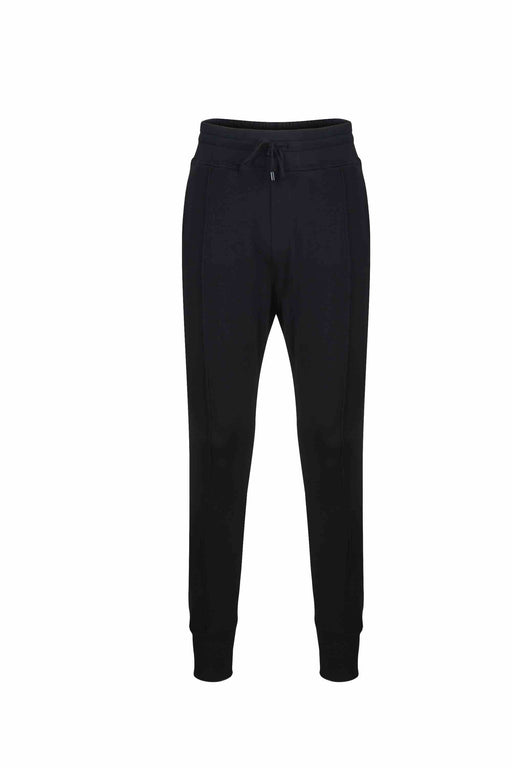 Front view of Men Easy Jogger Pants, made with Organic Cotton in Black