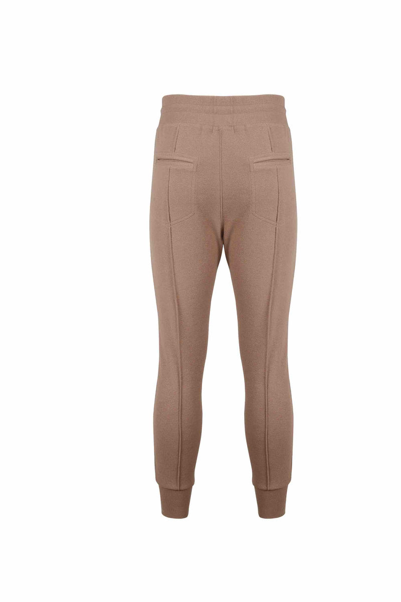 Back view of Men Easy Jogger Pants in Camel