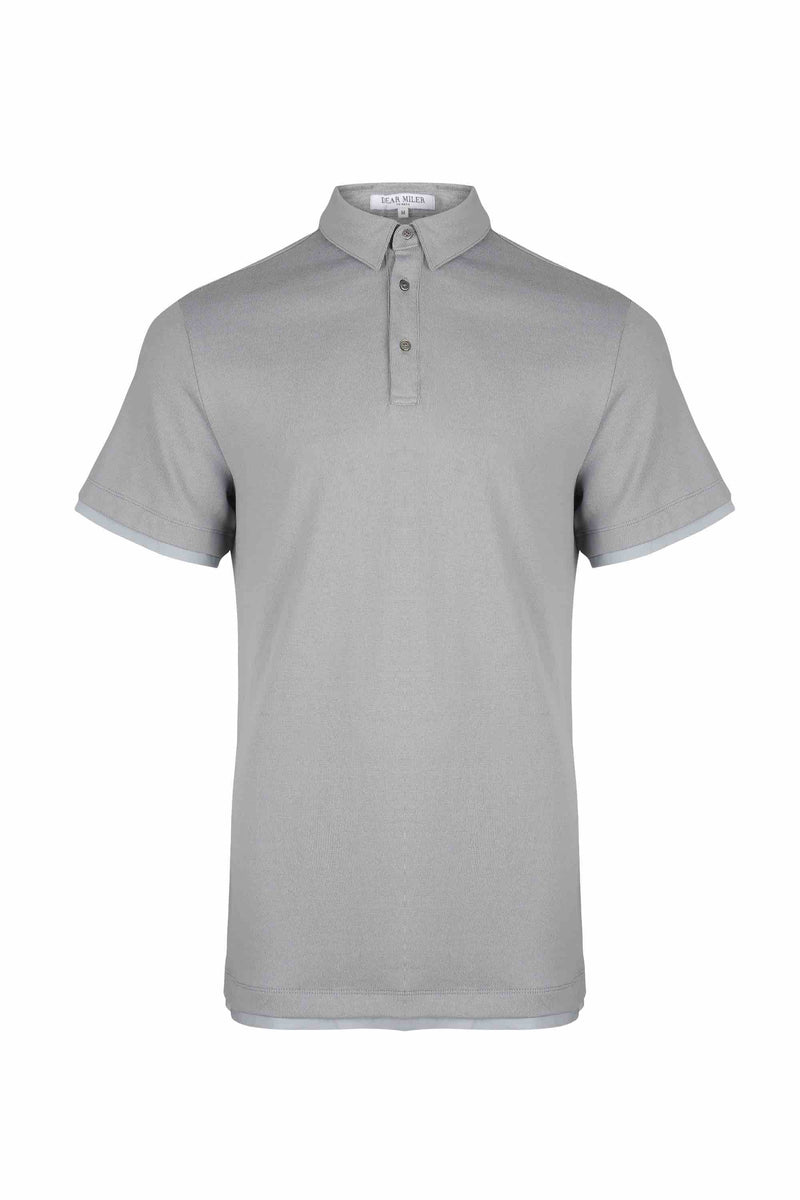 Contrast Polo Shirt - 20% OFF