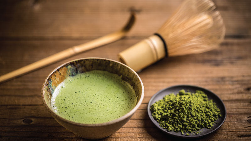 Brewing the goodness of green - Matcha green tea