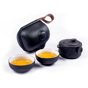 Crescent Travel Tea Set