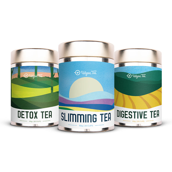 Detoxifying Wellness Tea Pack