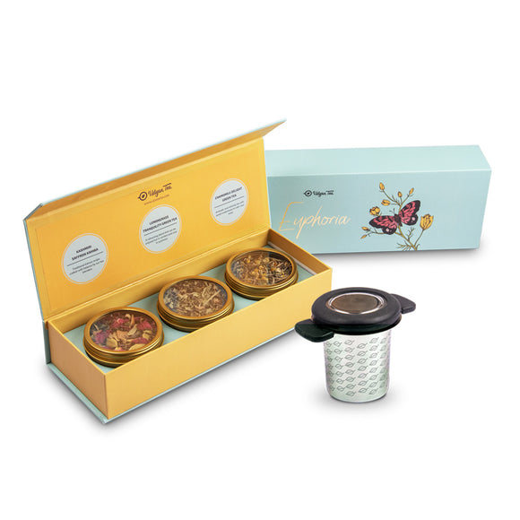 euphoria tea box and infuser combo