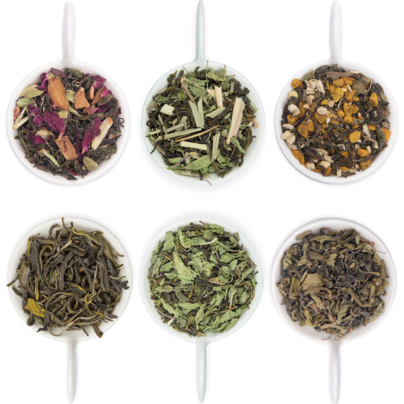 Herbal Green Tea Sampler Pack
