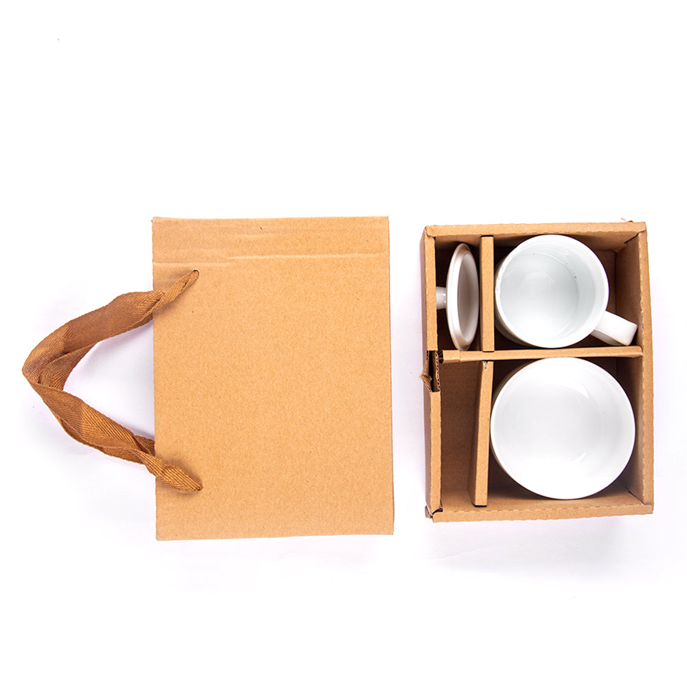 Ivory Tea Cupping Set
