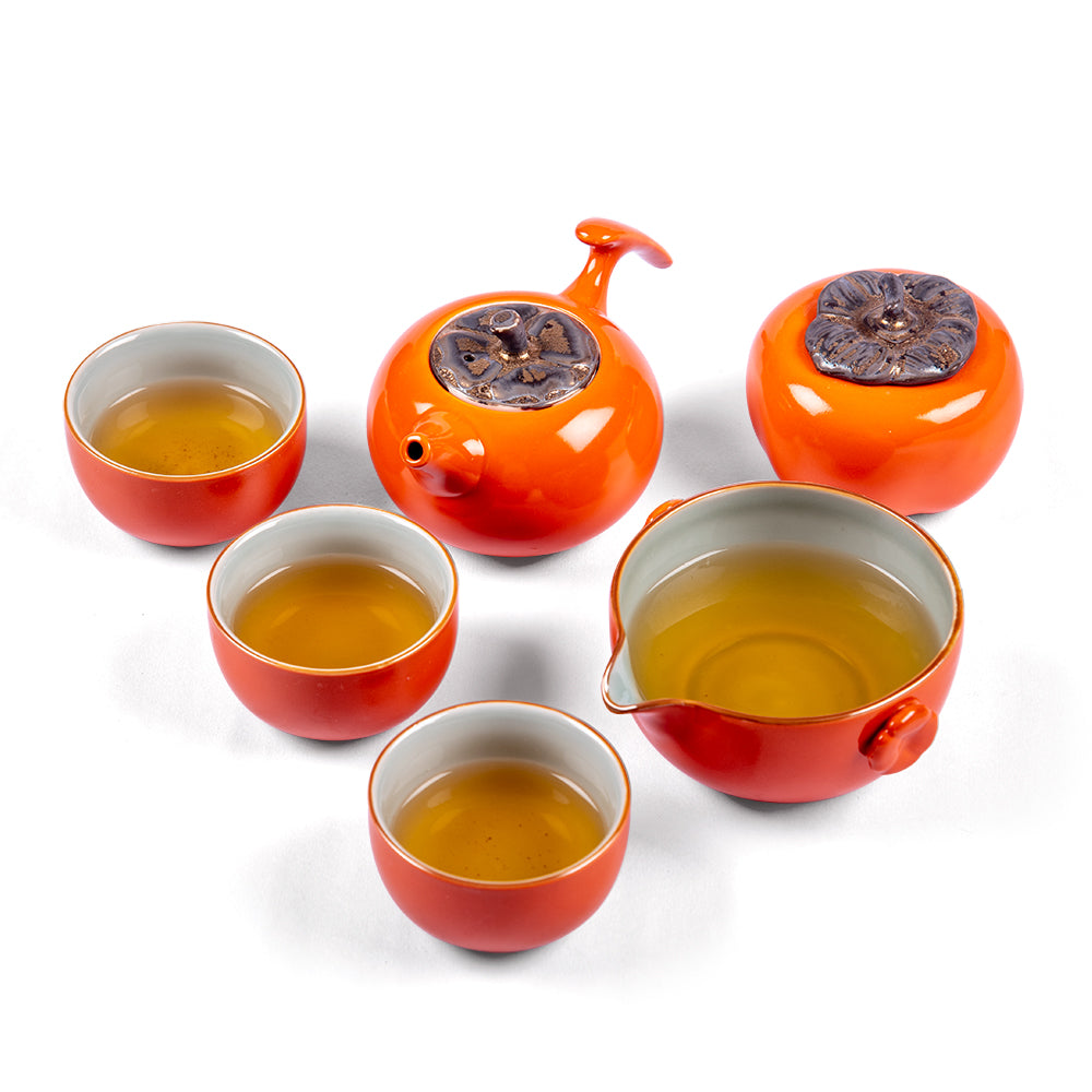 Mandarin Ceramic Tea Set