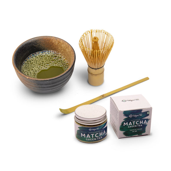 Matcha Tea + Brewing Kit