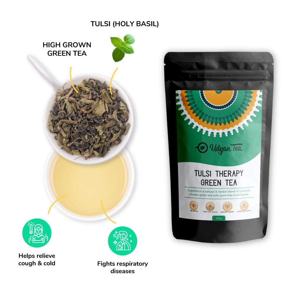 Tulsi Therapy Green Tea