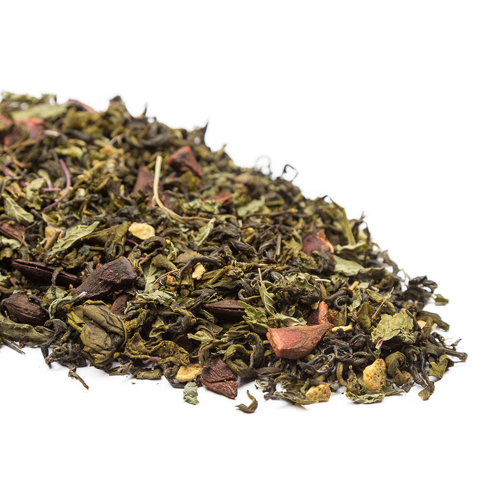 Zesty Orange Green Tea Online