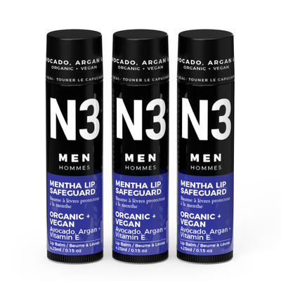 HOMME LEGEND MENTA LIP  SAFEGUARD - NACRE ORGANICS
