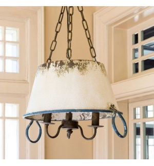 Soup Pot Pendant Light Fixture
