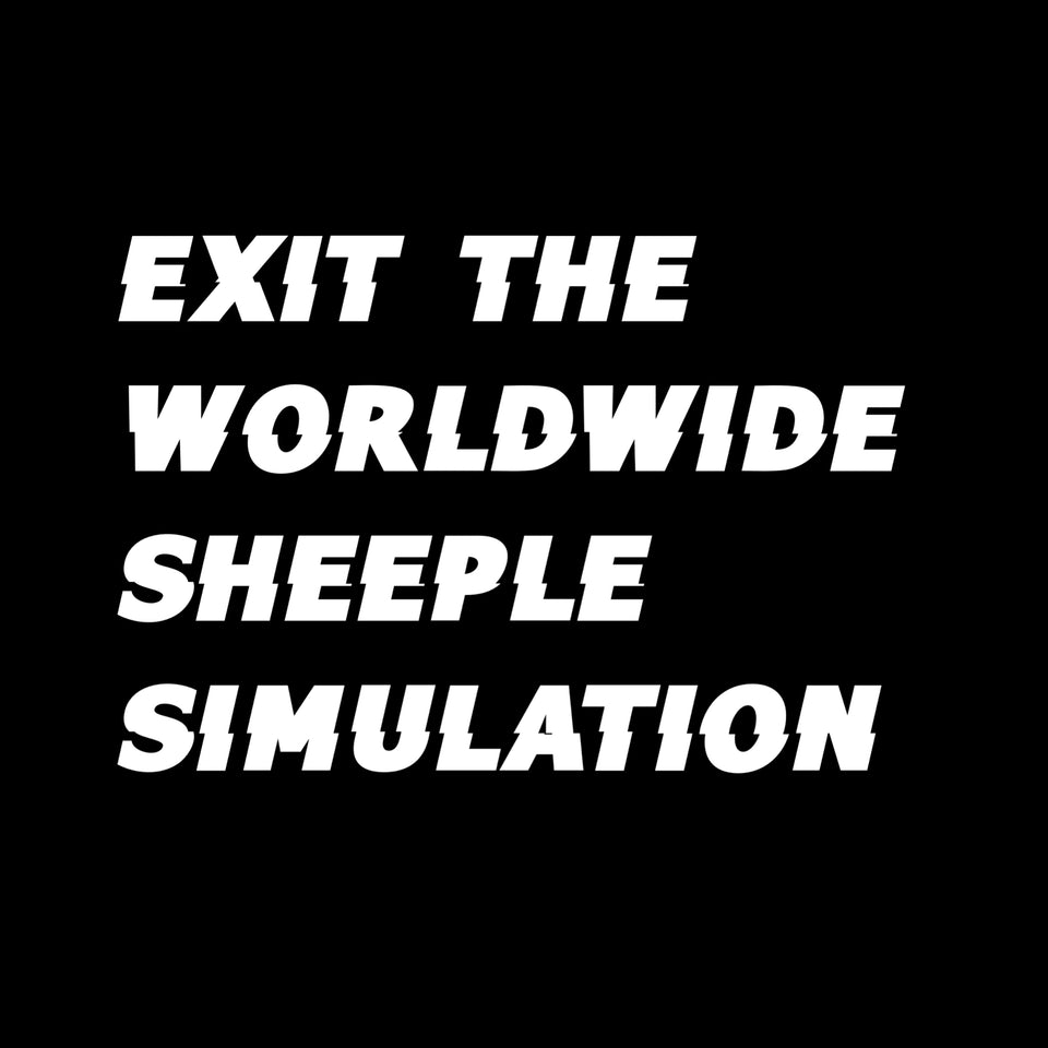 Exit Sheeple Simulation