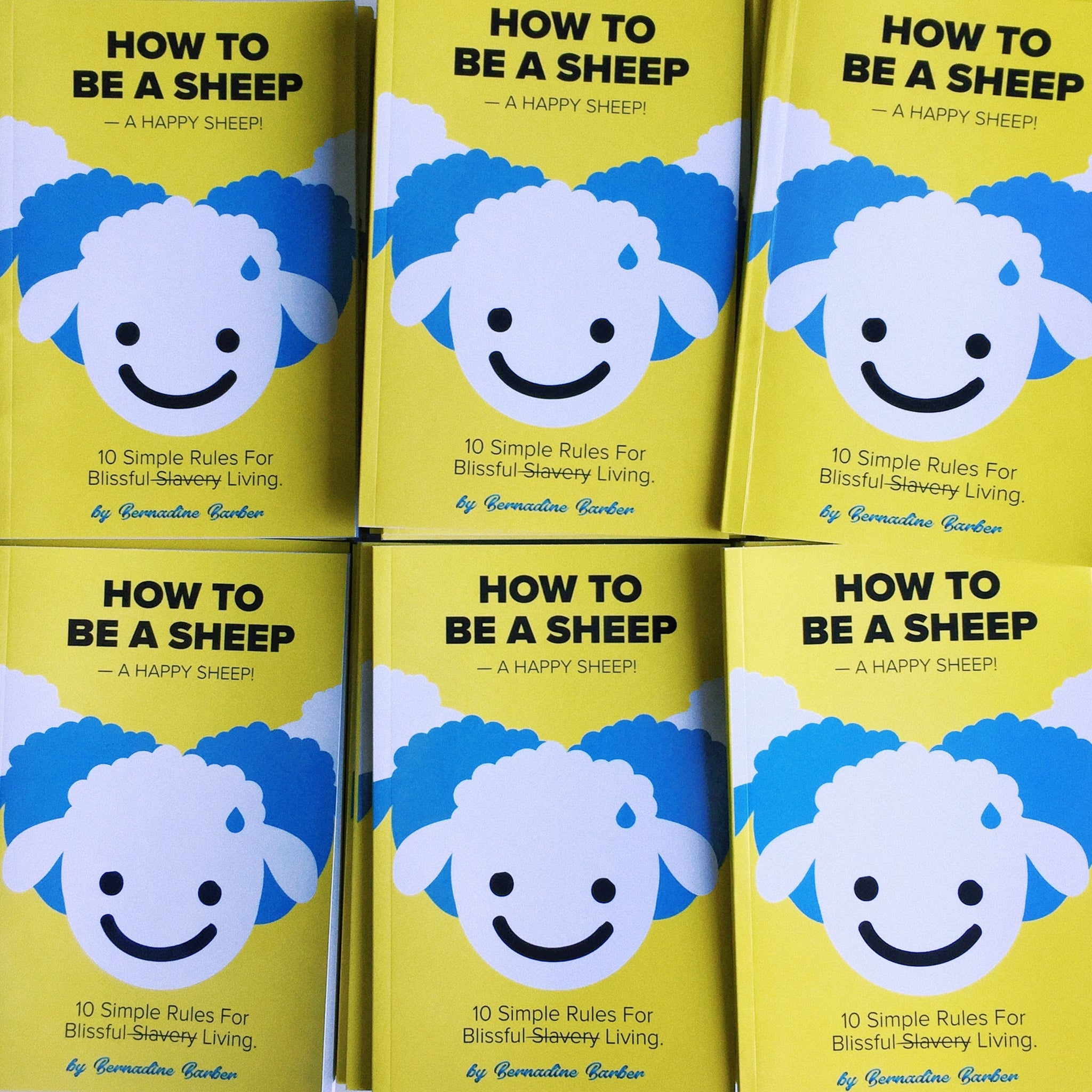 How To Be A Sheep –A Happy Sheep!