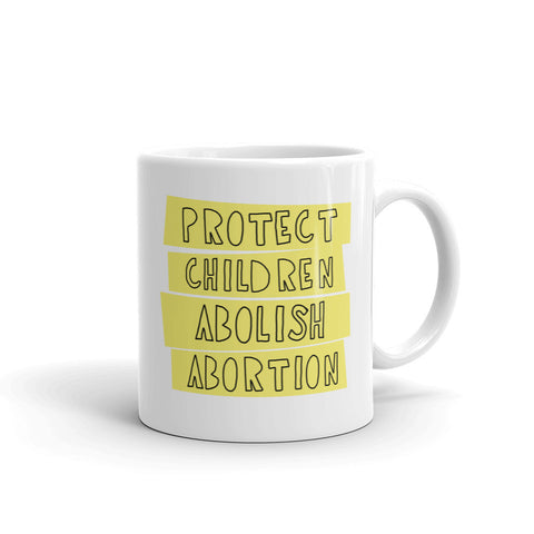 Protect Children Mug