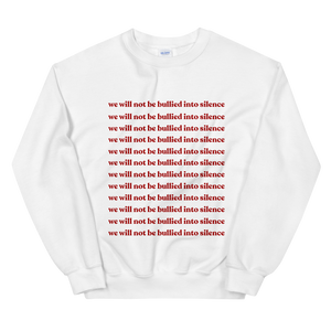 Not Bullied Sweatshirt (Pink or White)