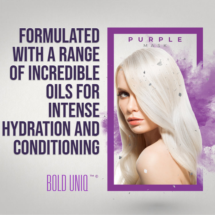 Purple Hair Mask - 200ml (6.76 Fl Oz)