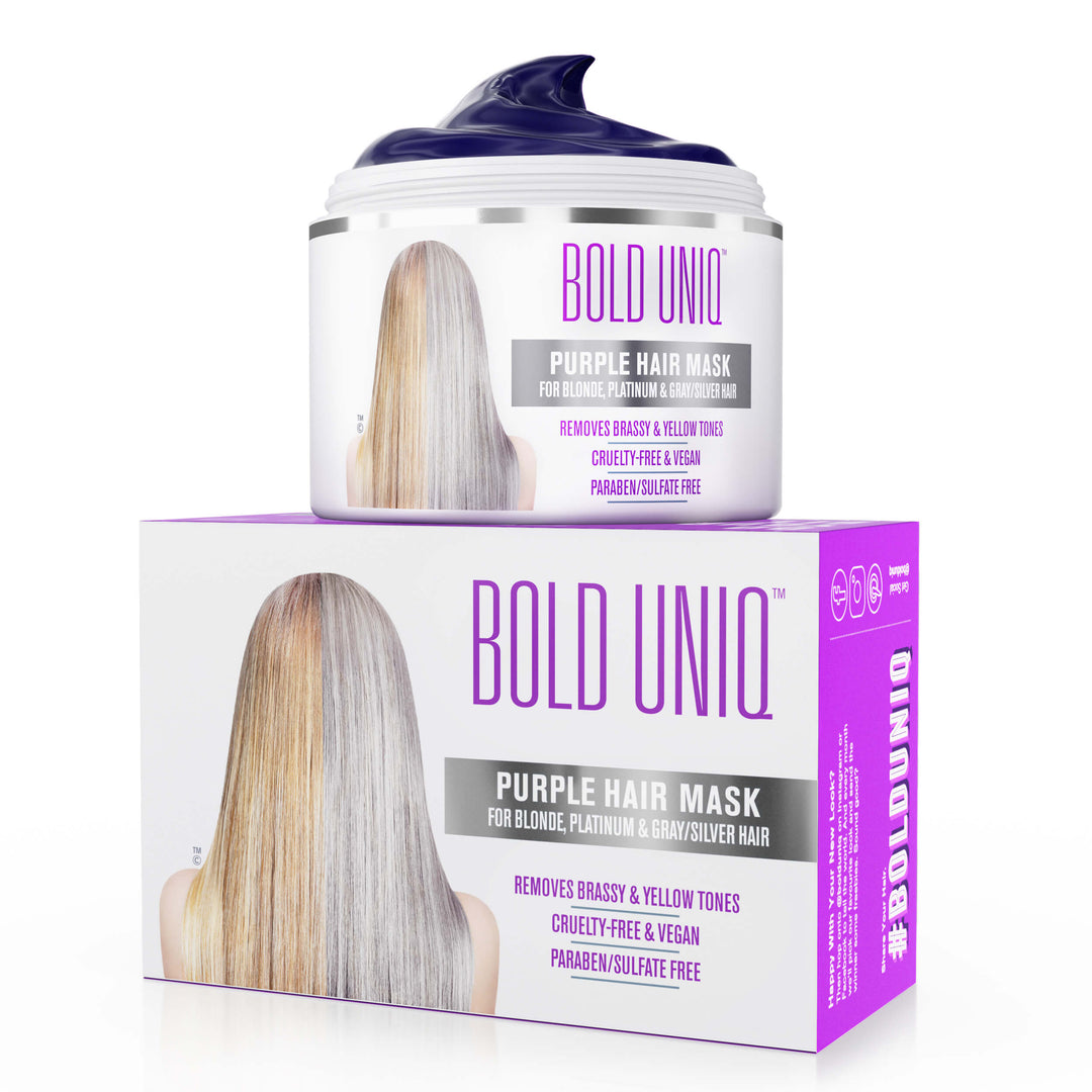 Bold Uniq Purple Conditioning Mask (215ml)