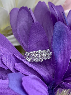 14k white gold and 2.00cttw diamond ring