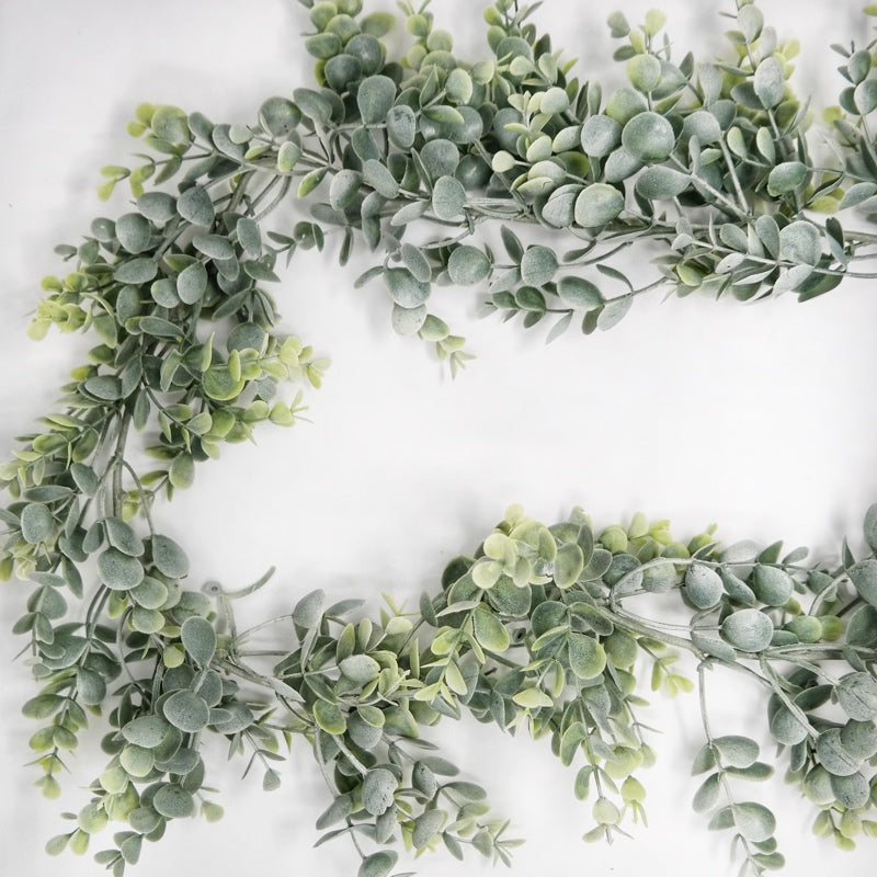 Frosted Eucalyptus Garland