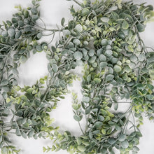 Load image into Gallery viewer, Frosted Eucalyptus Garland
