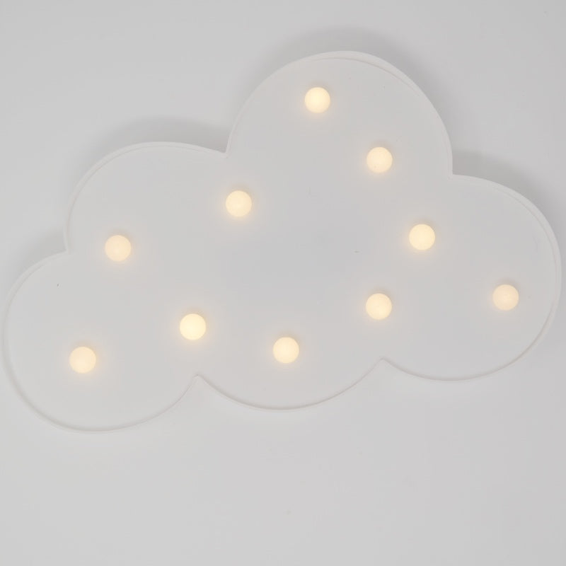 rent light up cloud party decorations