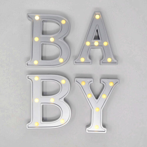 rent BABY letters party supplies