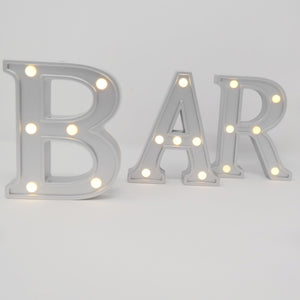 BAR Marquee lights for rent