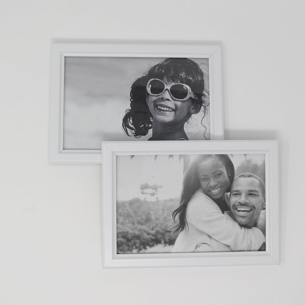 rent white picture frame party decoration