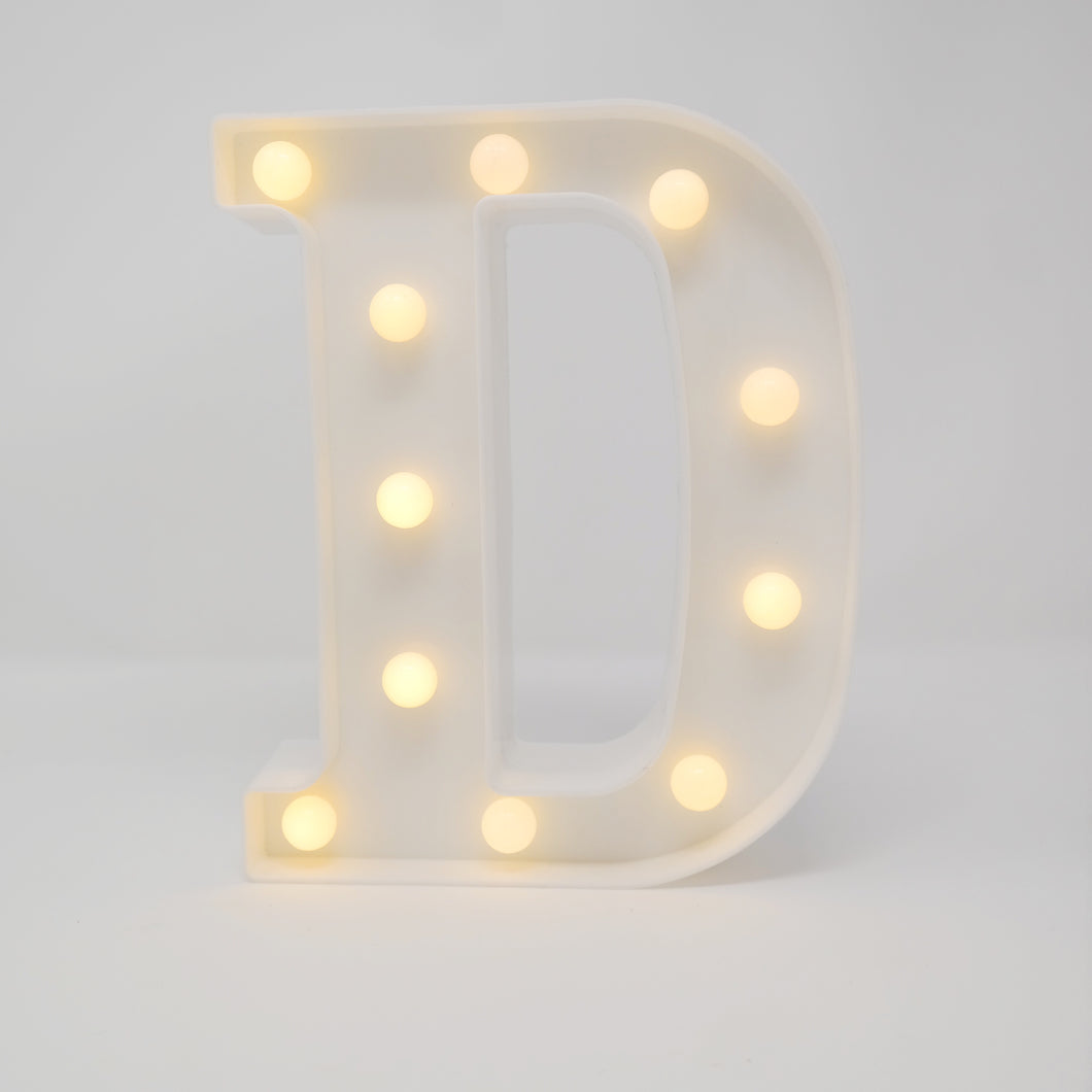 rent light up letters party decorations