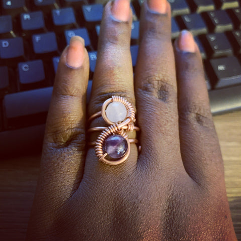 Small Dainty Infinity Ring