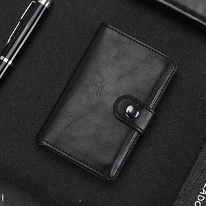 (50% OFF!!)RFID Blocking Vintage Business Wallet (Buy 2 Free shipping)