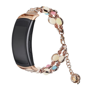 2019 new adjustable bracelet handmade night strip light for Samsung Gear Fit 2 / Pro replacement bracelet Smartwatch band