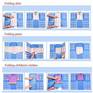 Folding Board Child Adult Clothes Folder Closet Organizer Clothing Easy Folder Board Laundry Multifunctional Home Storage