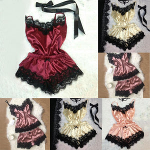 Fashion Sexy Lingerie Women Silk Lace Casual