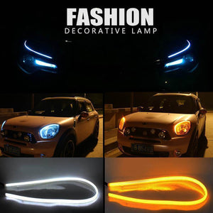 Car Flexible Daytime Running / Turning Light (Pair)
