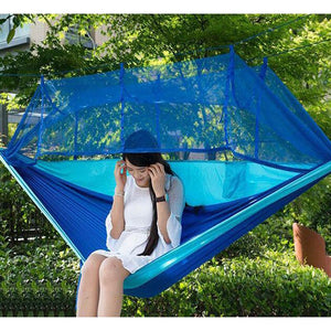 Portable 1-2 Person Camping Hammock with Mosquito Net