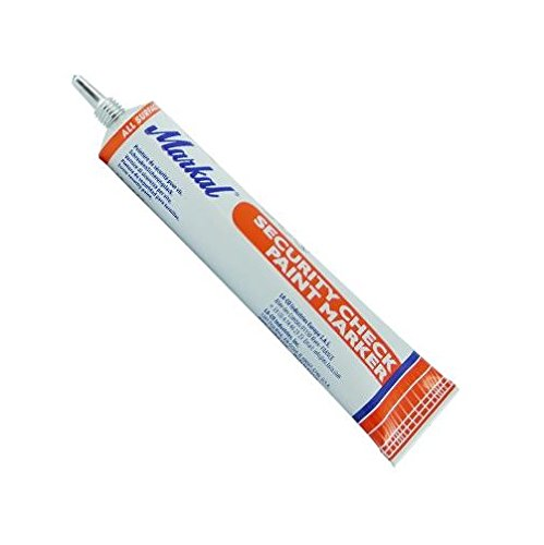 Markal Security Check 96674 Paint Marker, Orange